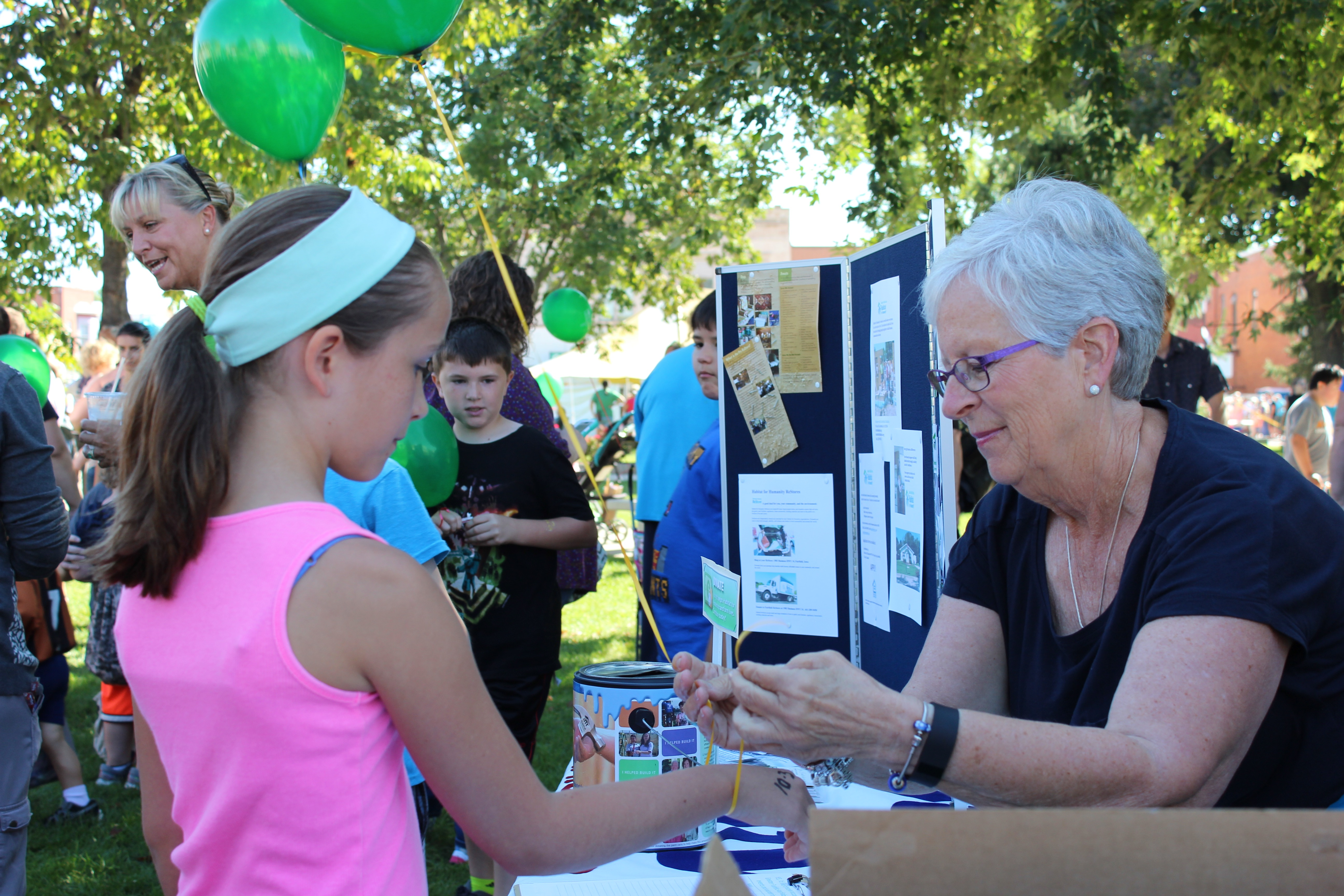 Greater Fairfield Area Habitat for Humanity at Kiwanis Kids' Day
